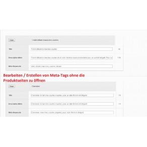 ModuleEDITEUR DE BALISES METAS