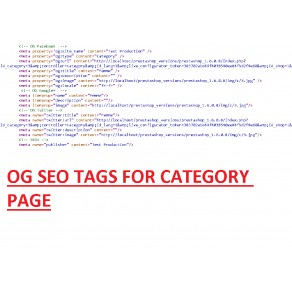 SEO for Social Networks - Open Graph