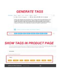 SEO - Product Tags